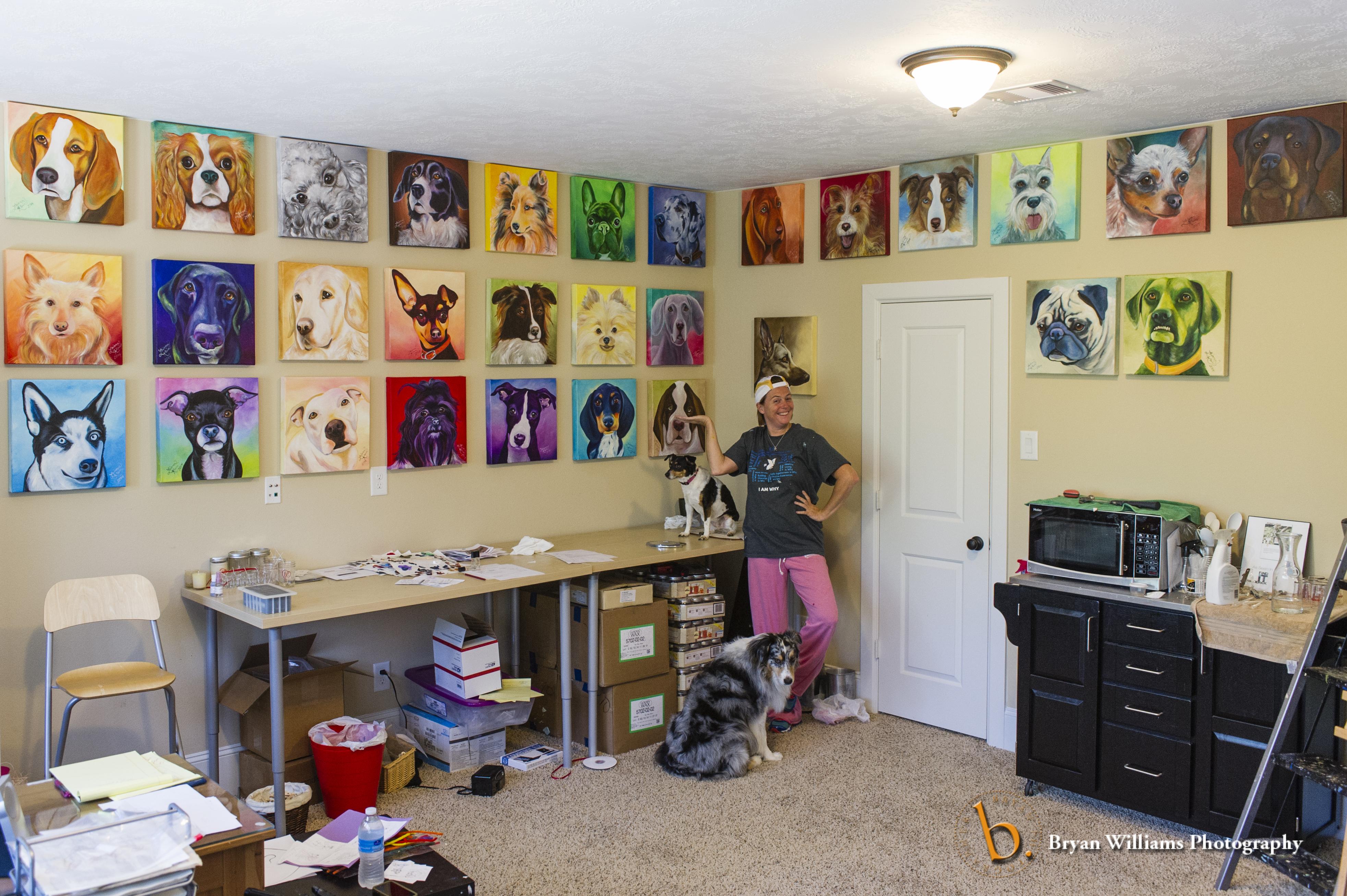 Leiann Klein with 30 Dogs 30 Days