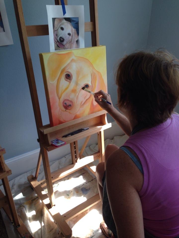 Leiann Klein painting Molly