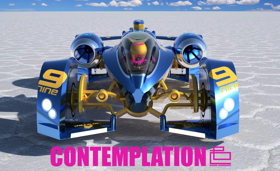 Golden 9 Contemplation Music Graphic