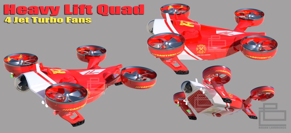 Heavy Lift Quad Concept