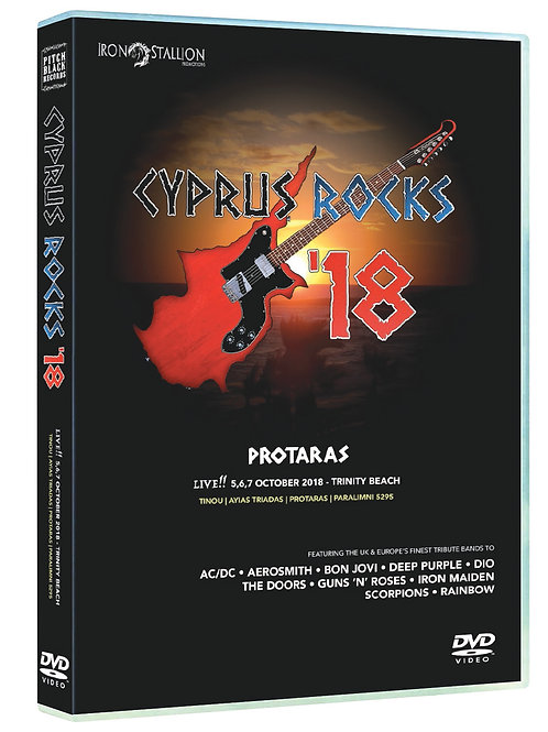 CYPRUS ROCKS '18 DVD