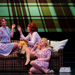 Karyn as Dora Lee in San Diego Musical Theatre's  production 9 TO 5