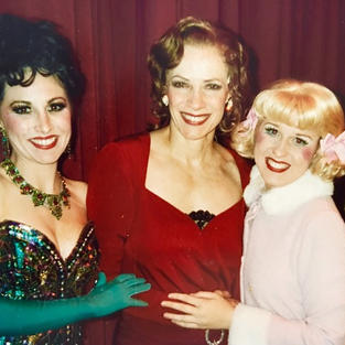 Karyn With Tony Award winner Betty Buckley & Lauren Hathaway in The Southern Arizona Light Opera Company production of GYSPY as Dainty June