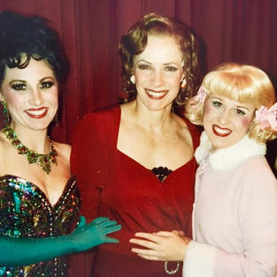 Karyn With Tony Award winner Betty Buckley & Lauren Hathaway in The Southern Arizona Light Opera Company production of GYSPY as Dainty June