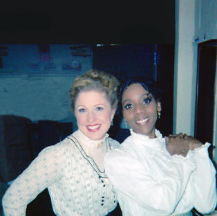 Karyn in Off-Broadway's: A TREE GROWS IN BROOKLYN, Choreography by Broadway's Sergio Trujillo