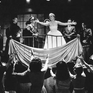 Karyn as Eva Peron in Theatre By The Sea's Production of EVITA  Matunick, RI