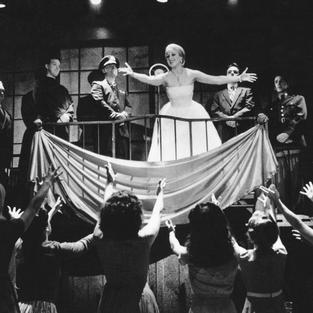 Karyn as Eva Peron in Theatre By The Sea's Production of EVITA  Matunick, RI