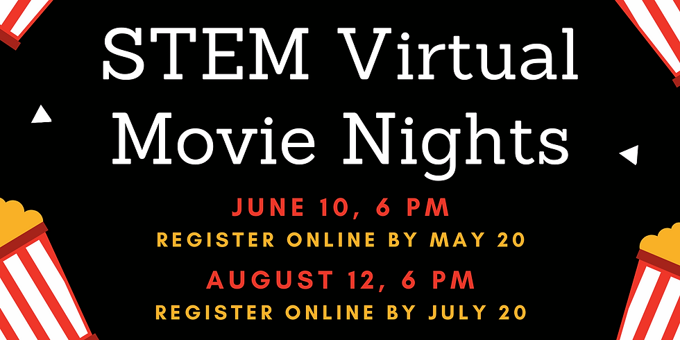 Socially Stem: Movie Night (June 10 @ 6:00 pm)