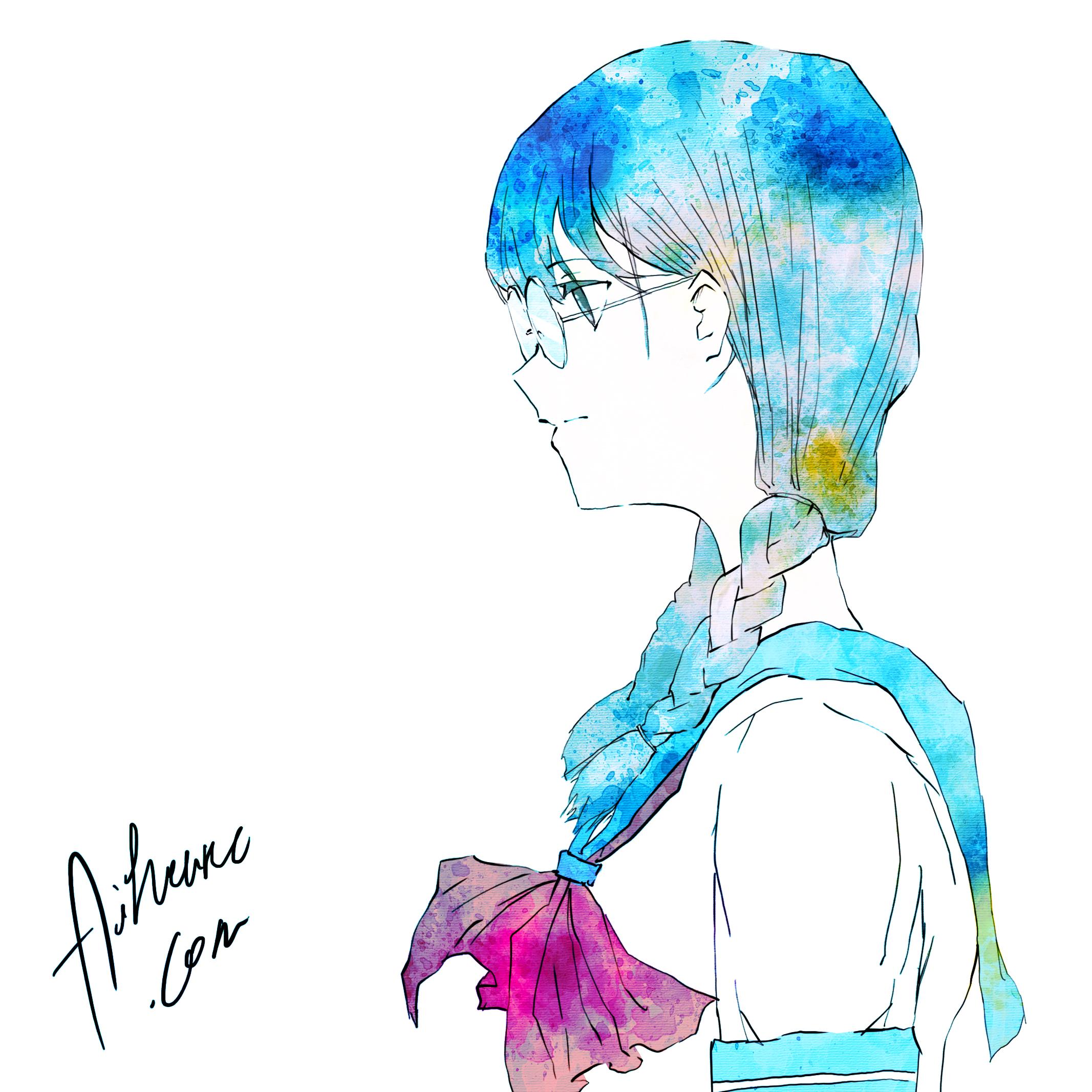 青とメガネ