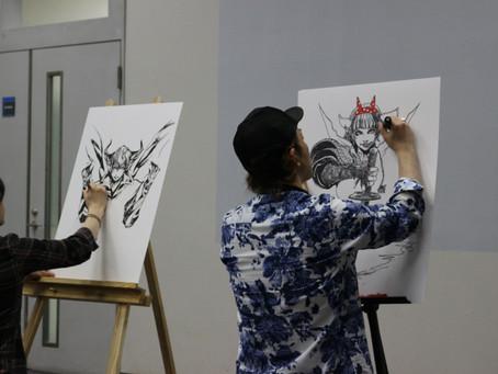 デジタルアートバトル Limitsの王者たちに会いに行く。JAPAN COMIC ART EXPO VOL.1へ! 各国から様々なアーティストがこの場所に集う!
