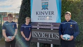 Students gained places at Worcester Warriors