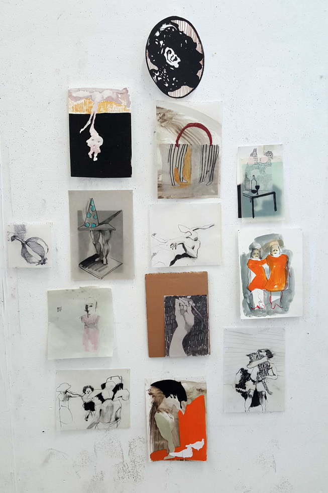 This is where I usually stop (drawing installation)