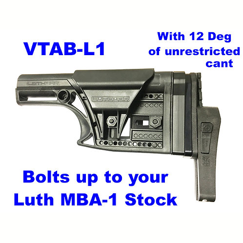 VTAB-L1 Fits LUTH MBA-1 Buttstocks