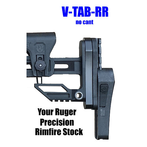 V-TAB-RR for Ruger Rimfire Vertical Tactical Adjustable Buttstock ( In Stock)