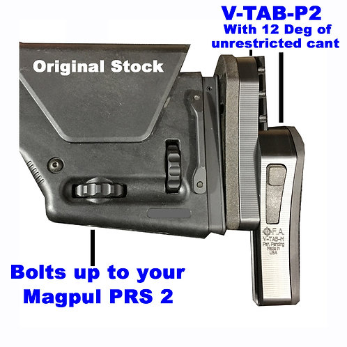V-TAB-P2 for Magpul PRS2 Vertical Tactical Adjustable Buttstock ( In Stock)