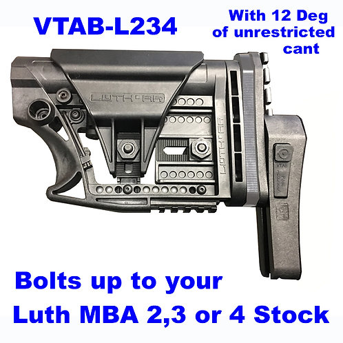 VTAB-L234 Fits LUTH MBA-2,3 +4 Buttstocks