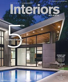5th Anniversary Modern Luxury Interiors.
