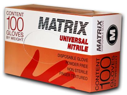 Перчатки нитриловые MATRIX