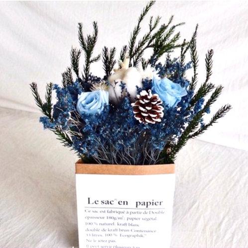 Mystic Blue Potpourri Pouch