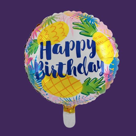 Happy Birthday (Pineapple) Add On