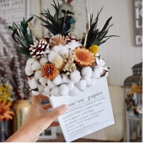 Cotton Potpourri Pouch