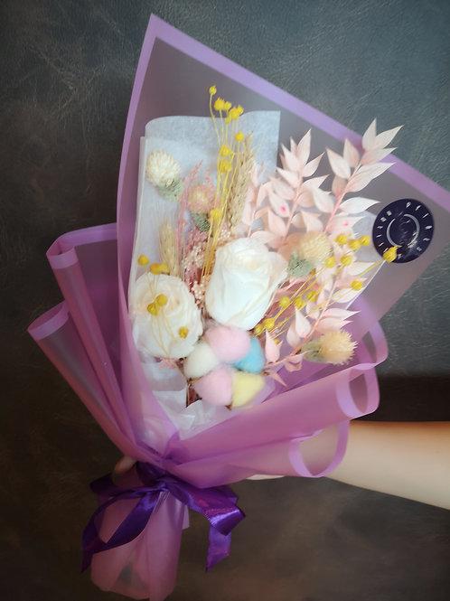 Preserved Petite Posy - Pastel Sweetness