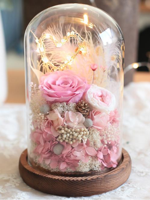 Preserved Floral Jar - Sweetheart