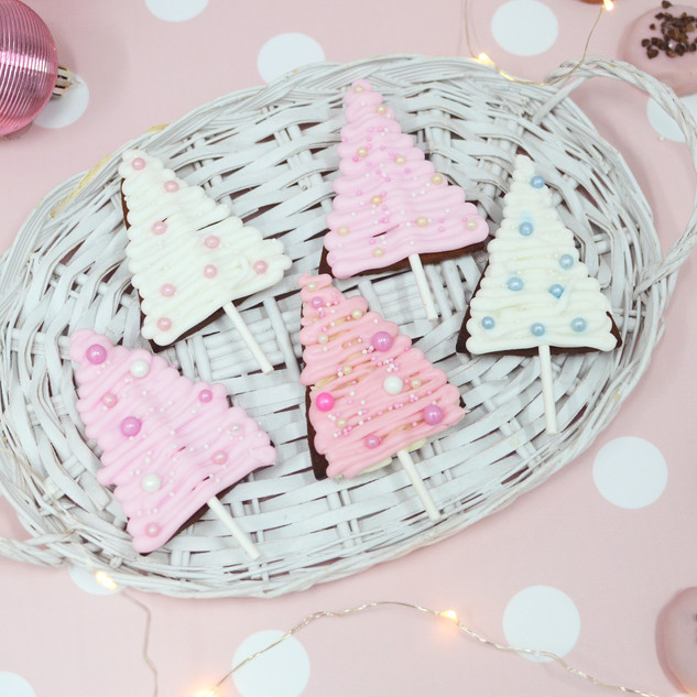 Christmas Tree Gingerbread Lollies, $3.21