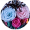 Thumbnail: Preserved Floral Small Globe - Blue Pastel