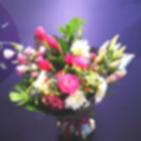 Signature Poeny & Dahlias Posy (from $35