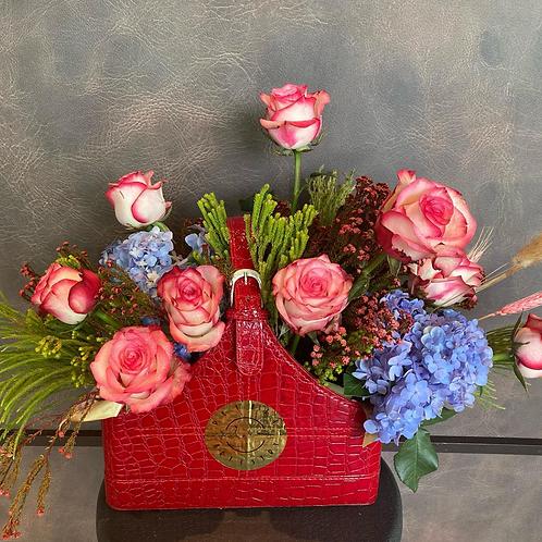 "Premium Roses ""Hermes"" Gift Bag"