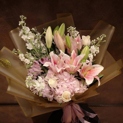 Lily & Hydrangea Extravaganza
