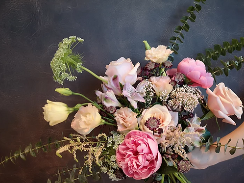 French Twist Posy Floral Jamming