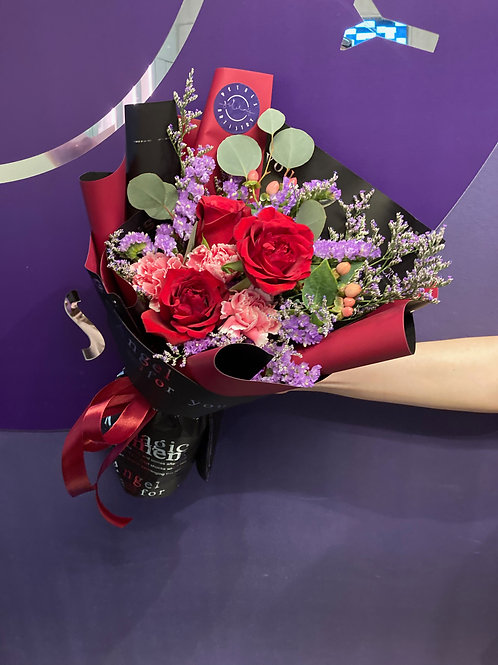 Roses & Carnations Special - Red Hot