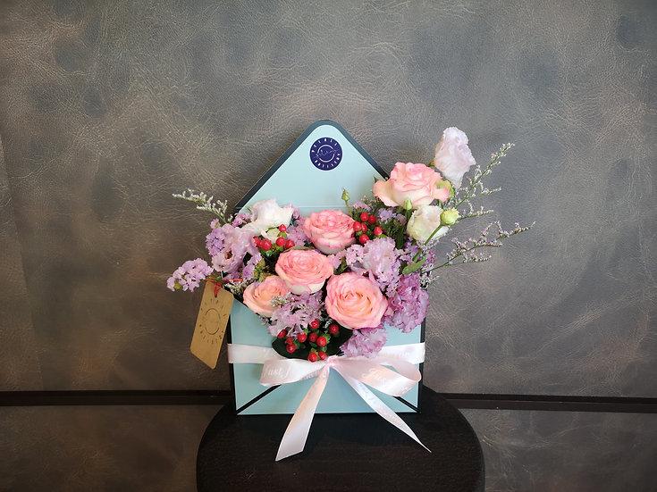 Floral Letter Of Love