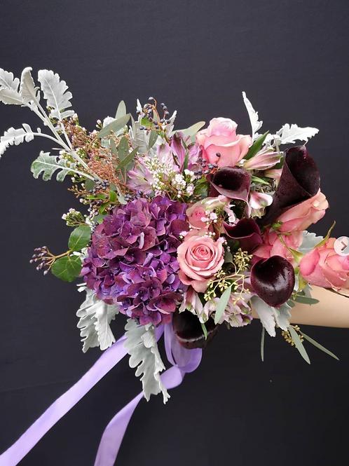 Dark Violet Elegance