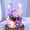 Thumbnail: Preserved Floral Dome - Violet Infatuation