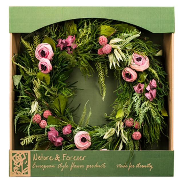 Pastel Potpourri Wreath