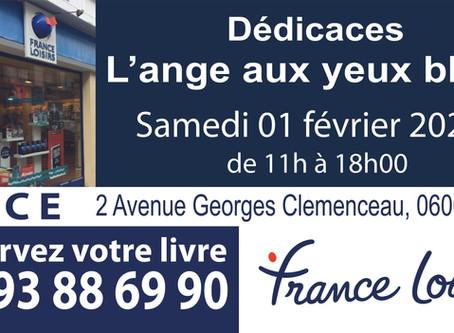 Nice : Dédicaces boutique France Loisirs