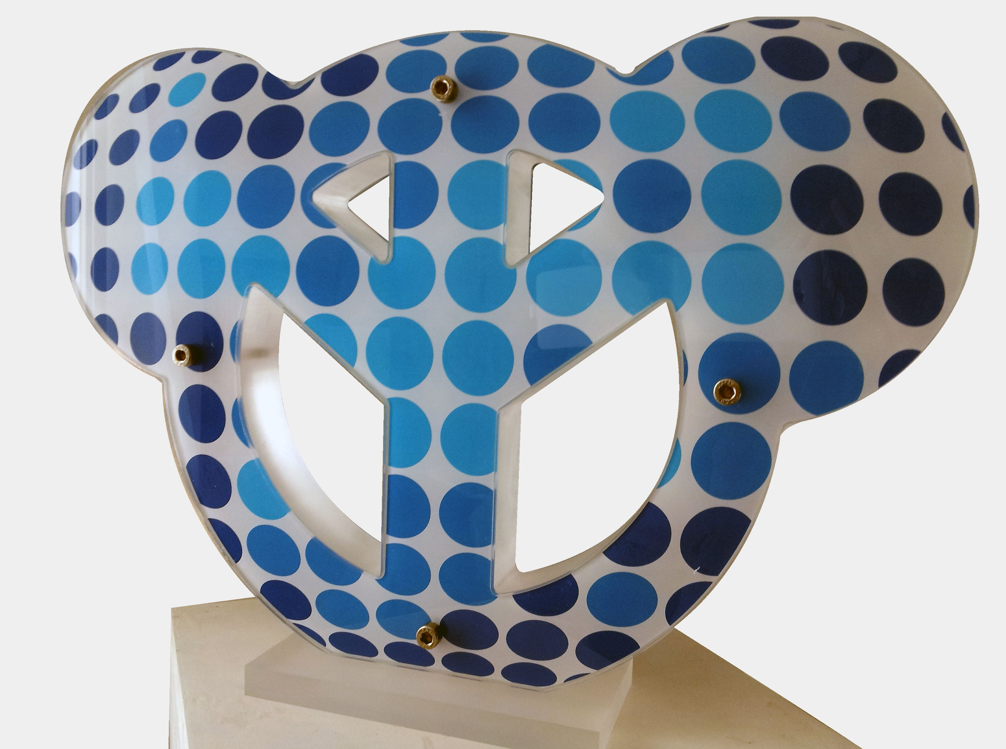 Peace&Toon Modern blue - 35x50cm
