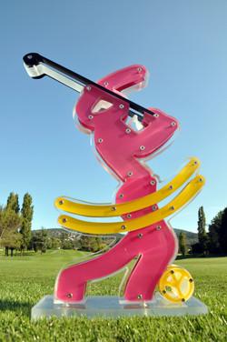 Sculpture Golfeur