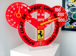 Peace&Toon Speed limit 55 - 35x50cm