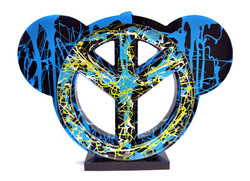 Peace & toon Dripping02 - 35x50cm