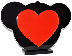Happy Heart - 35x50cm