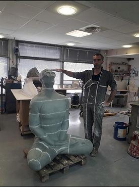 Sculpture musée subaquatique de marseille