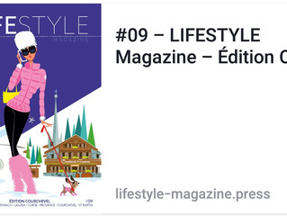 Presse : LIFESTYLE Magazine – Édition Courchevel 2017