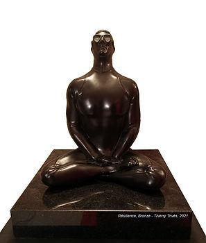 Resilience, Bronze, réplique du Musée Subaquatique de Marseille