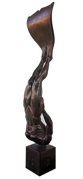 Sculputre mer Bronze