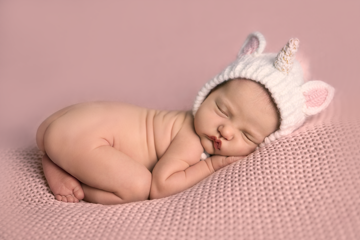 Violet | Newborn Portrait Session | Minneapolis-Cambridge, MN Newborn Photographer