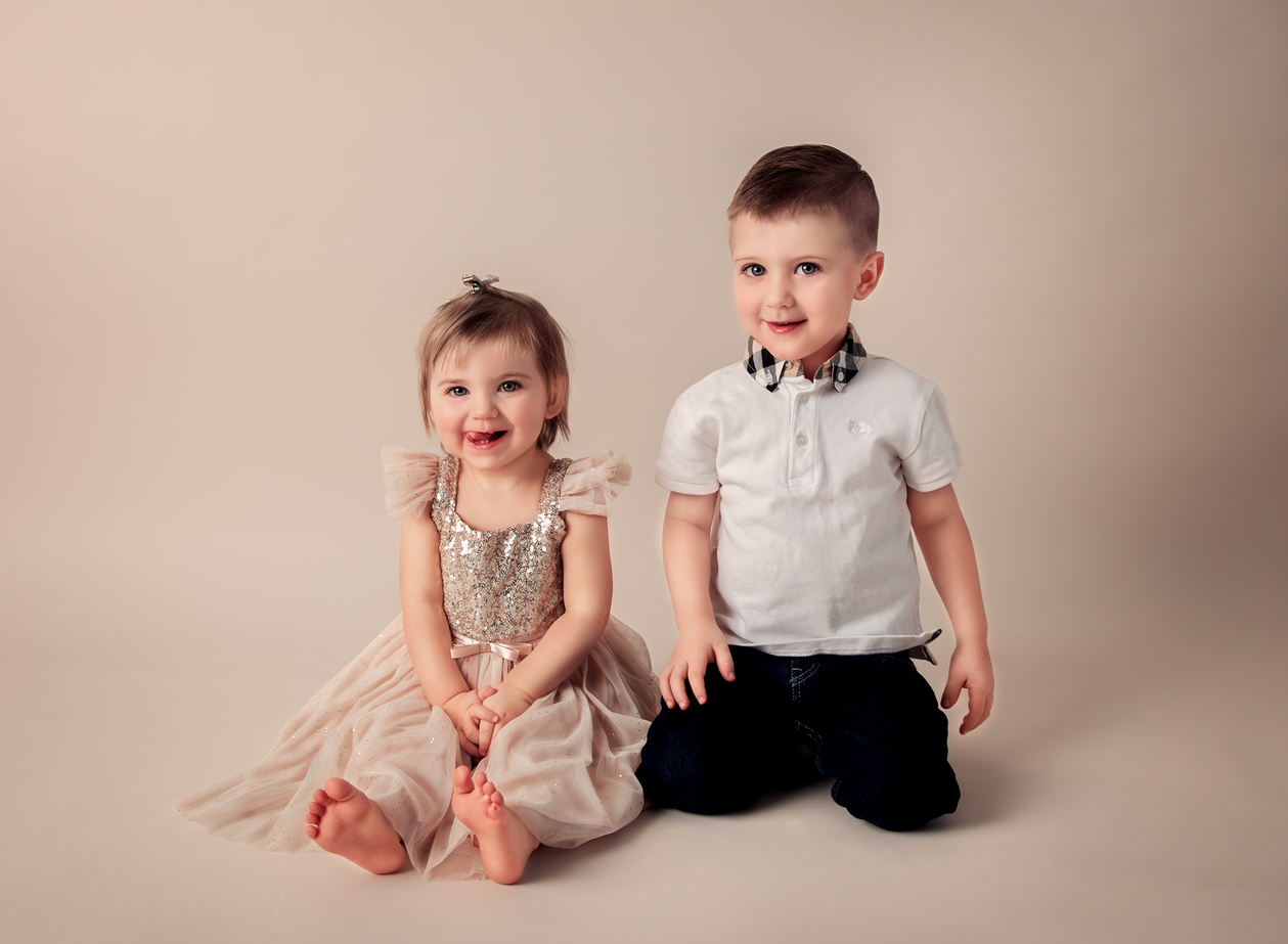 Harrison & Olivia | Children's Portrait Session | Minneapolis Children's Photographer